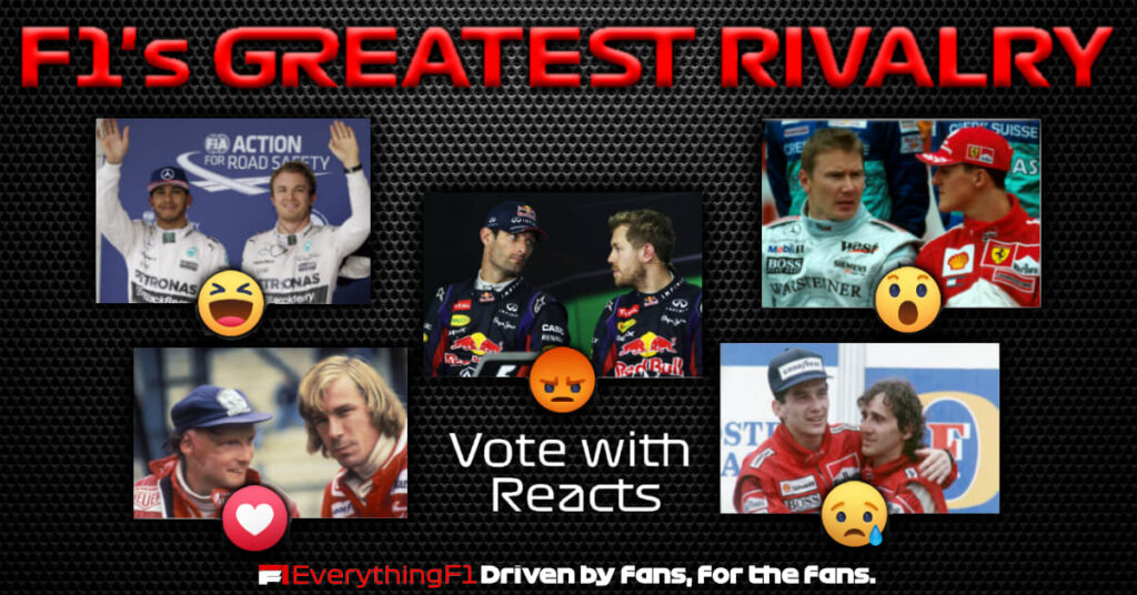 F1's Greatest Rivalry…