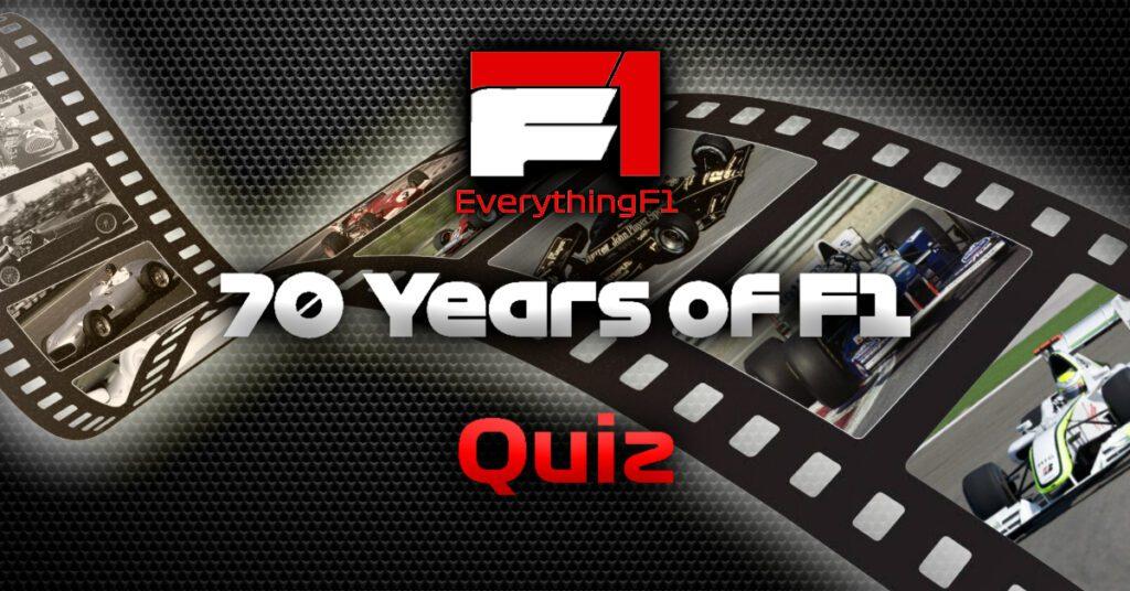 70 Years Quiz