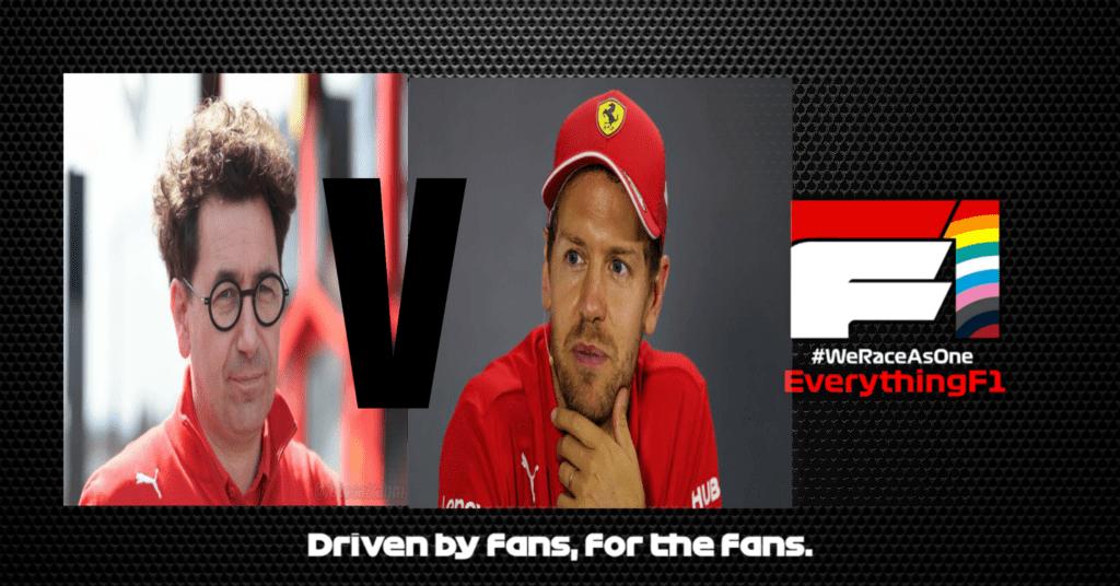 Vettel V Ferrari