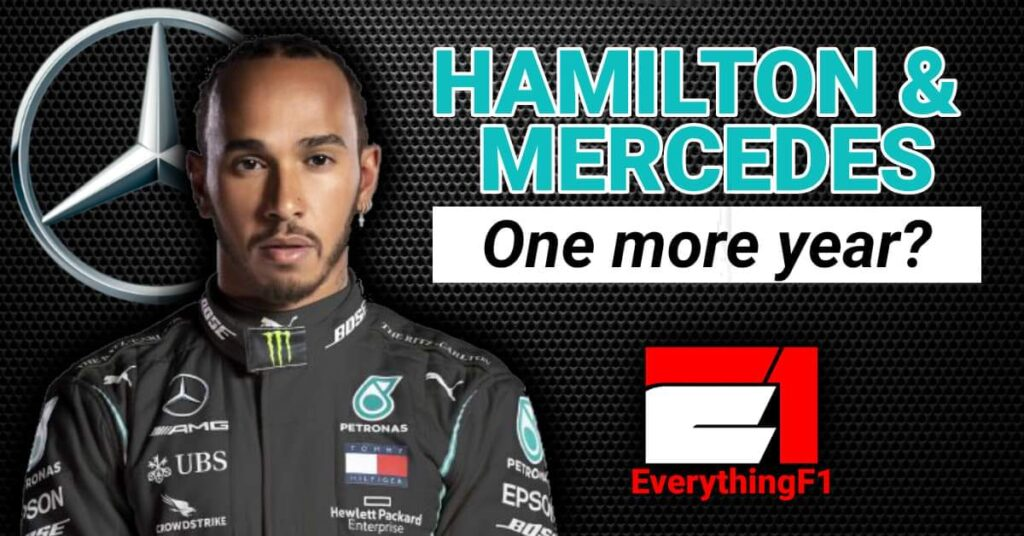 HAMILTON AND MERCEDES…one more year?