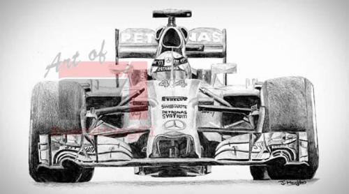 Hamilton/Mercedes - W05