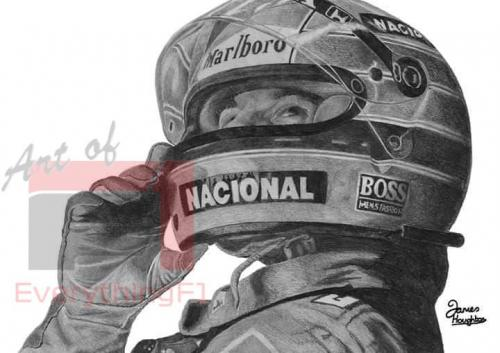 Ayrton Senna - Look to the Heavens