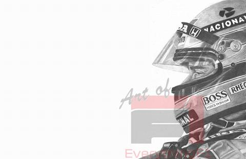 Ayrton Senna - Focused