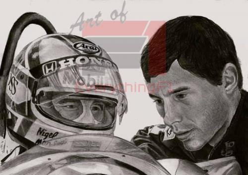 Senna & Mansell - Respect